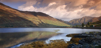 Scottish Highlands - Loch Duich Royalty Free Stock Images