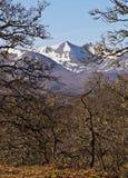 Scottish Highlands near Roy Bridge Stock Images