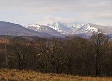 Scottish Highlands near Roy Bridge Royalty Free Stock Images