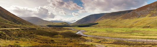 Scottish Highlands Royalty Free Stock Photography
