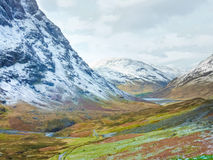 Scottish Highlands Scenic, Glencoe, Scotland Stock Photo