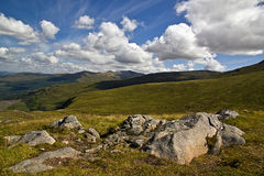 Scottish Highlands. Sight of beautiful Highlands landscape Royalty Free Stock Image