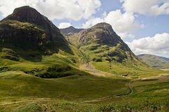Scottish Highlands. Sight of beautiful Highlands landscape Royalty Free Stock Photography