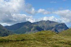Scottish Highlands in sunny ambiance Stock Image