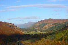 Scottish highlands. On a sunny autmn day Stock Photos
