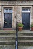 Scottish house entrace Royalty Free Stock Images