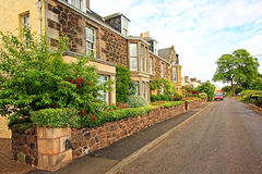 Scottish houses Royalty Free Stock Photo