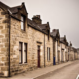 Scottish houses Stock Photography