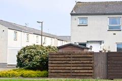 Scottish houses Stock Photo