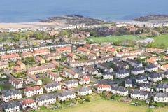 Scottish houses Stock Image