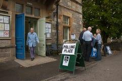 Scottish Indy-Referendum 2014 Stockbild