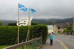 Scottish Indy-Referendum 2014 Stockfotografie