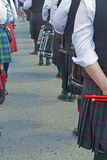Scottish-Irish festival participants. Royalty Free Stock Image