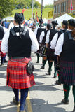Scottish-Irish festival participants. Royalty Free Stock Image
