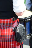 Scottish-Irish festival participants. Stock Photography