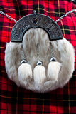 Scottish kilt. Detail of a Scottish kilt, typical landmark Royalty Free Stock Images