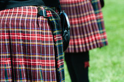 Scottish Kilt Royalty Free Stock Photos