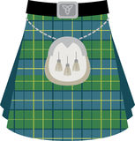 Scottish Kilt Royalty Free Stock Images