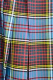 Scottish Kilt Close Up Royalty Free Stock Photos
