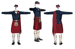 Scottish kilt. Royalty Free Stock Photo
