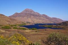 Scottish landscape. Typical scottish landscape on western coast near Loch Lurgainn Royalty Free Stock Photography