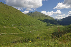 Scottish landscape Ben Arthur Stock Image