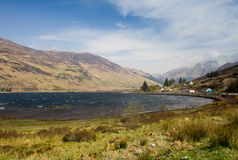 Scottish Landscape - Loch Duich Royalty Free Stock Photo