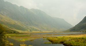 Highlands Scottish landscape Royalty Free Stock Images