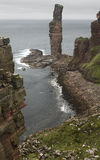 Scottish landscape in Orkney. Old man of Hoy. Scotland Stock Image