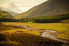 Scottish landscape Royalty Free Stock Photos