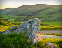 Scottish Landscape At Sunset Stock Image