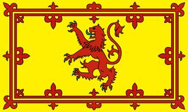 Scottish lion rampant Royalty Free Stock Photos