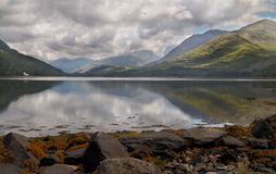 A Scottish Loch. Loch Etive is a 17 mile stretch of water in Argyll and Bute, Scotland Stock Image