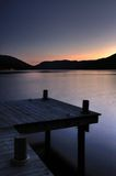 Scottish Loch Earn with pier 2 Royalty Free Stock Image