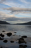 Scottish loch Rannoch Royalty Free Stock Image