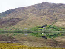 Scottish Loch and Reflection Stock Photography