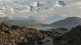 Scottish Loch Shore Royalty Free Stock Images