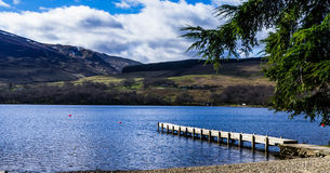 A scottish loch Royalty Free Stock Photos