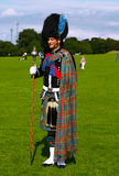 Scottish man in traditional outfit Stock Photography