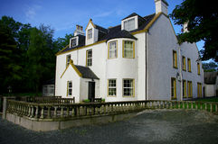 Scottish Mansion. A fancy high class scottish mansion stock image
