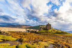 Scottish medieval castle royalty free stock photography