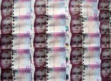 Scottish Money. Scottish sterling twenty pound  banknotes Stock Photo