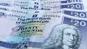 Scottish money Stock Image