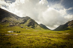 Scottish mountains of glencoe Royalty Free Stock Photos