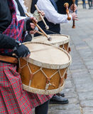 Scottish Musical Band- Detail Royalty Free Stock Photos