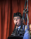 Scottish musicien bagpiper1 Royalty Free Stock Images