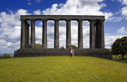Scottish National Monument Royalty Free Stock Photography