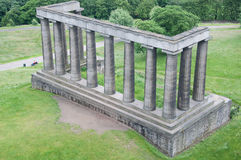 Scottish National Monument, Calton Hill, Edinburgh Stock Photography