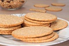 Scottish oatcakes Stock Images