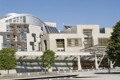 Scottish Parliament. Royalty Free Stock Photo
